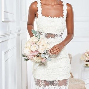 Venus Lace Bodycon Dress
